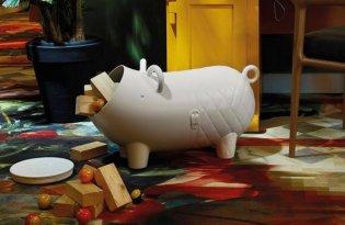 [產品設計]俏皮小豬儲藏罐