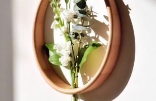 [家具裝飾]Mary's Vase竹籐壁掛式花瓶