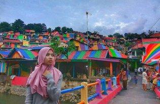 [攝影藝術]Kampung Pelangi 印尼彩虹村小鎮