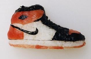 [創意行銷]壽司潮牌運動鞋裝置藝術