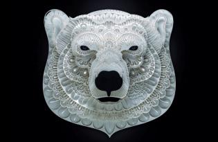 [工藝設計]動物紙雕裝置藝術