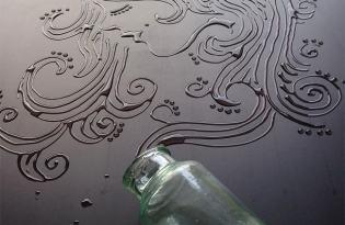[平面設計]水滴插畫視覺藝術