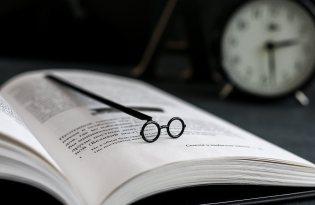 [文具設計]哈利波特眼鏡書籤