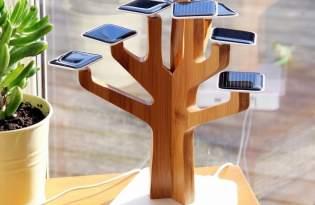 [產品設計]太陽能電池盆栽造景