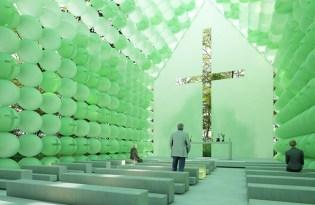 [建築設計]森林綠色教堂