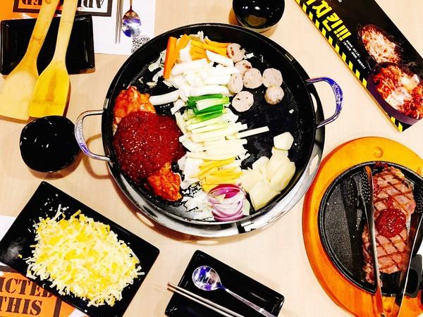 (新北。新店區美食) 『Omaya春川炒雞-新店店』急速蔓延!!韓國炒雞來也~