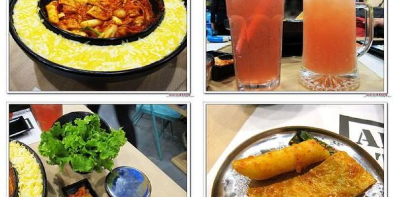 (嘉義。美食) OMAYA春川炒雞(嘉義店)---韓國道地美食。韓劇獨有菜色。李光洙愛情鍋_雙倍起士牽絲秀_起士愛好者的最愛!