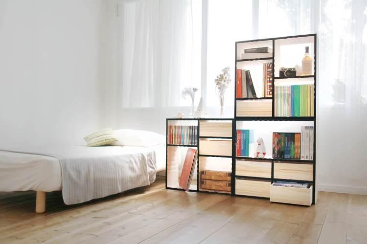 【開箱文】Patya打鐵仔:書本好朋友,可左右翻轉變換空間的超實用優質書櫃|簡潔個性家具,好朋友家具,讓你擁有一個夢想之家|全台宅配/終生保固維修/家具推薦