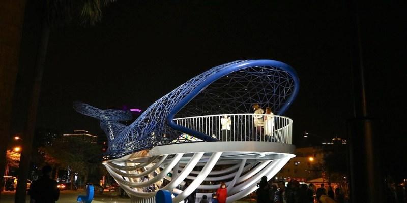 大魚的祝福:台南安平新景點,巨大鯨魚裝置藝術在安平,安平海濱歷史公園的最新打卡IG熱點
