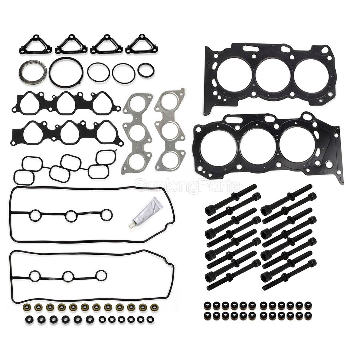 Vincos Head Gasket Bolts Set Fits For Toyota 4runner