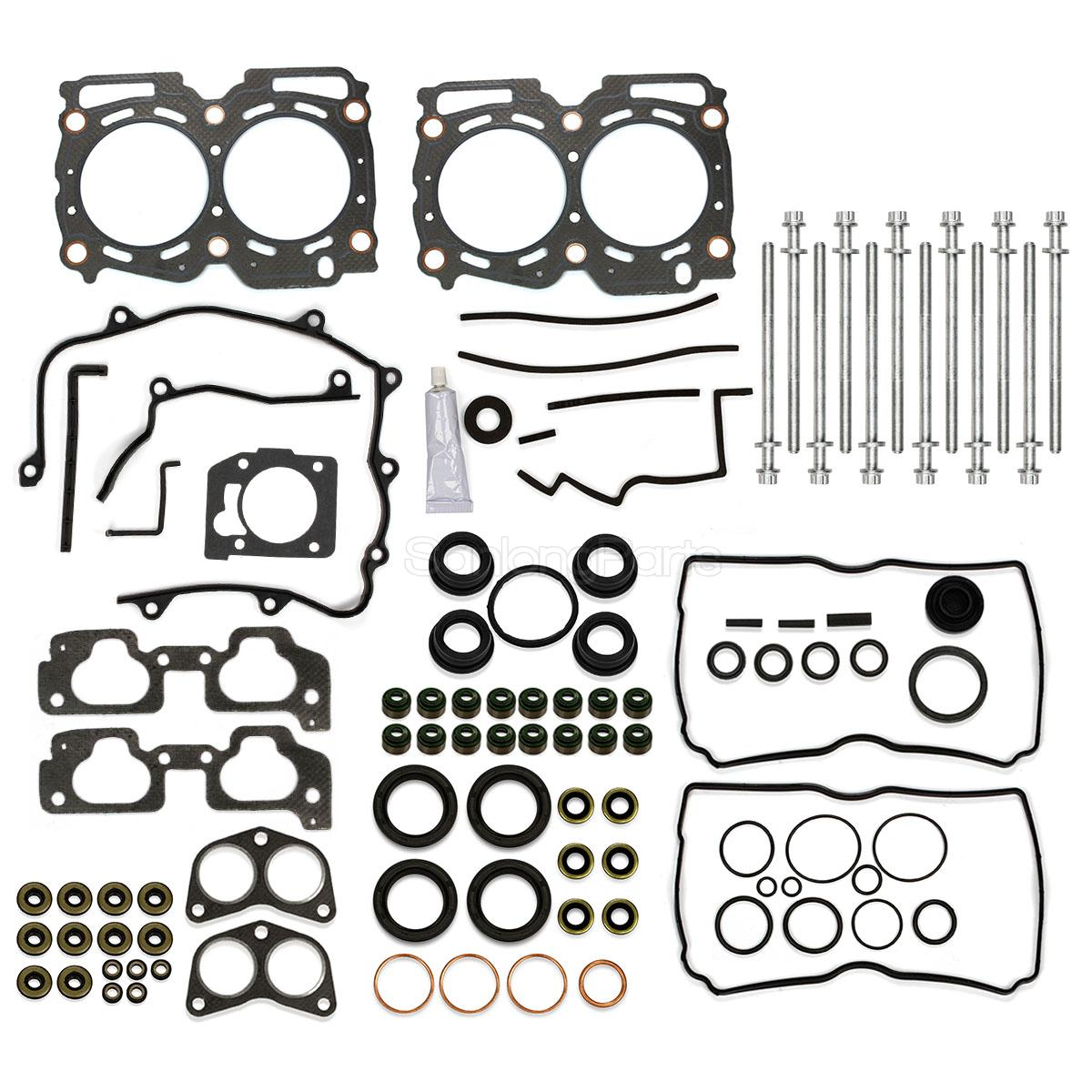 For 99 03 Subaru Legacy Impreza Forester Outback 2 5l Head Gasket Bolts Kit Ej25