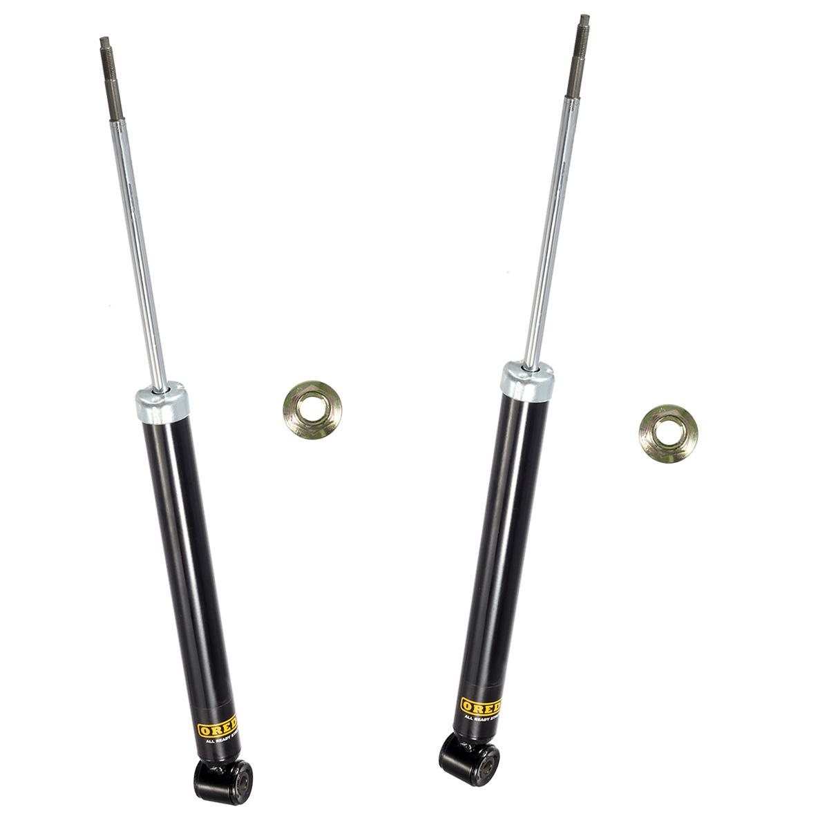 2 Rear Left Right Shocks Absorbers Struts For Bmw