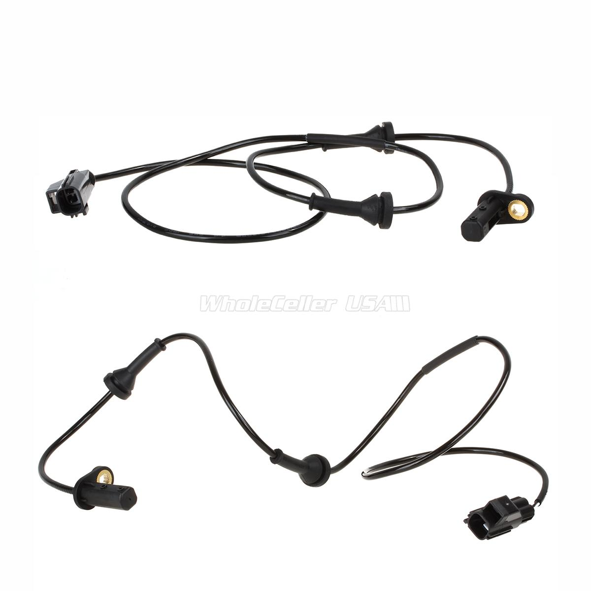 2x Front Left Right Abs Wheel Speed Sensor For Volvo S60 2