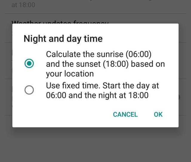 If You Prefer Not To Use Location You Can Also Manually Set The Time For The Wallpaper To Change From Day To Night