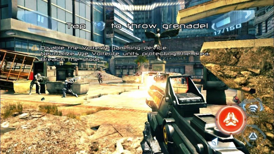 Top 10 Free First Person Shooter Games for Your iPad  iPhone  or     Install N O V A  3 for free from the iOS App Store