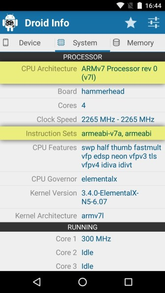 android basics see what kind processor you have arm arm64 x86.w1456 - Comment voir quel type de processeur vous avez (ARM, ARM64 ou x86)