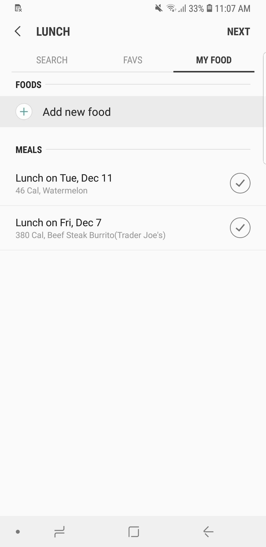 How To Count Calories Amp Log Nutrition With Samsung Health Android Gadget Hacks