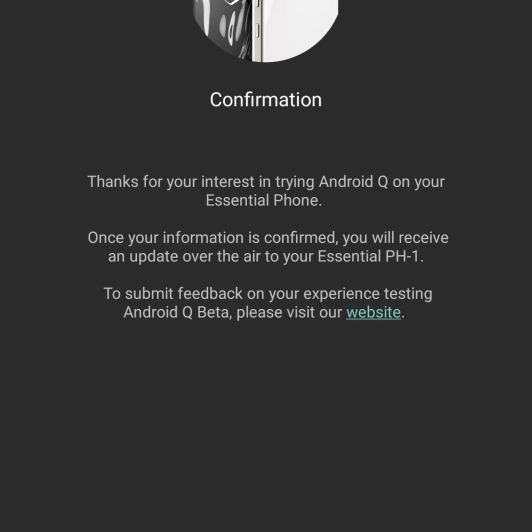 How to Install Android Q Beta on Your Essential Phone