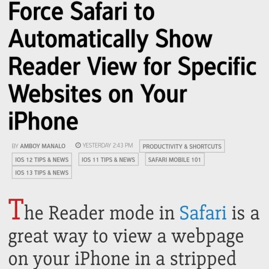 How To: Increase Text Size in Google Chrome for Android - InfoT3chPro