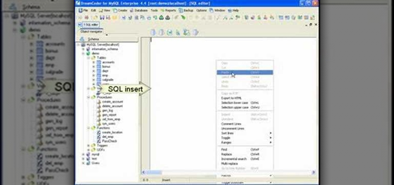 How To Backup A MySQL Database With DreamCoder « Internet