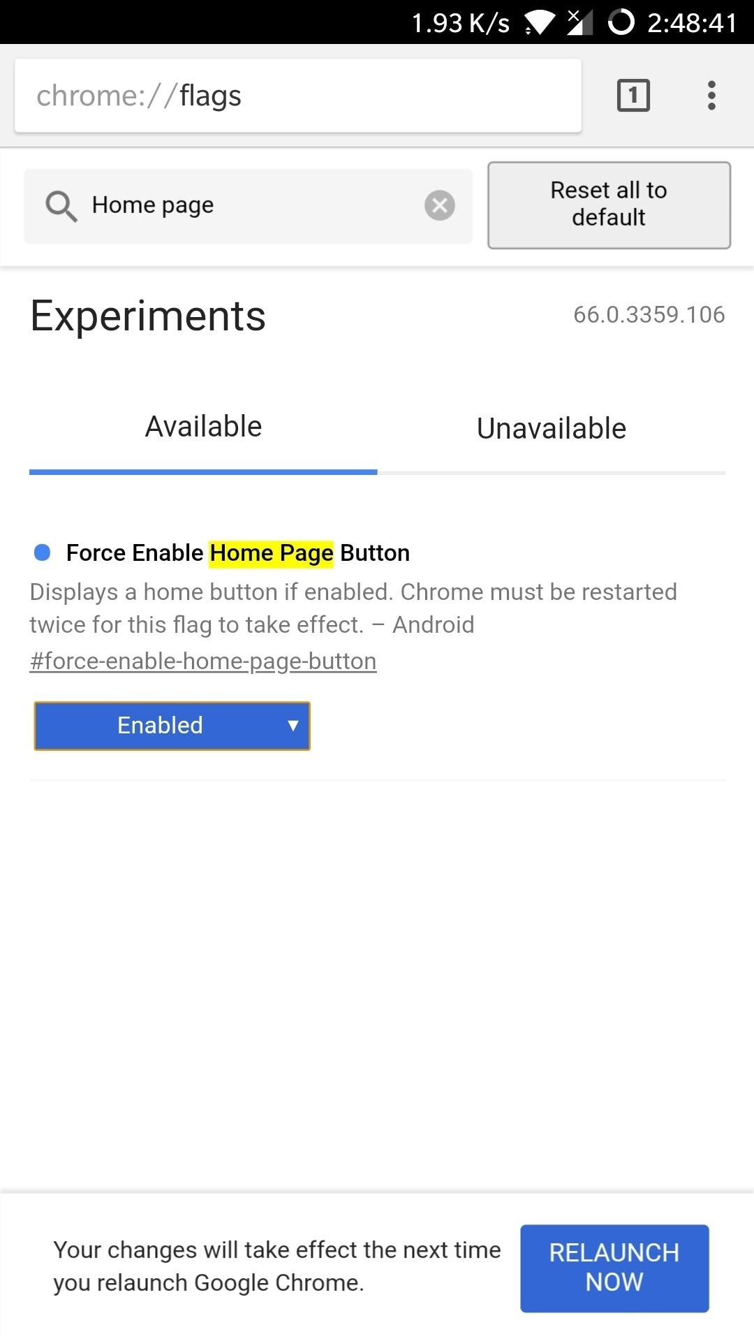 Chrome 101 How To Enable The Home Page Button On Any