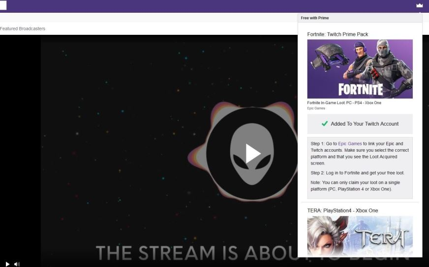 How Do I Connect My Twitch Account To Fortnite | Fortnite ...