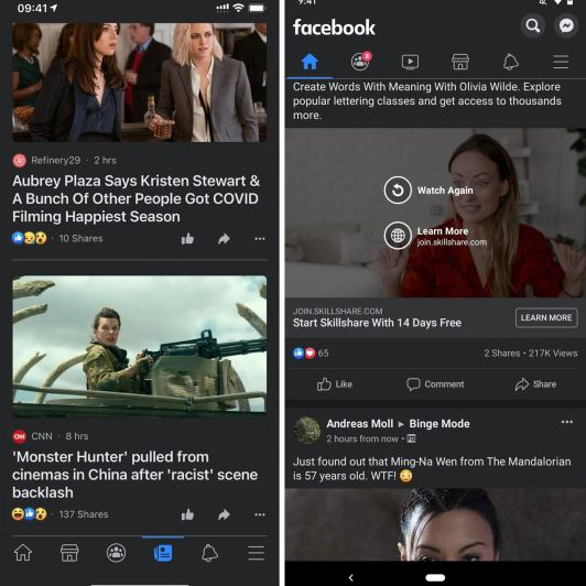 How to Enable Dark Mode in Facebook's iOS & Android Apps