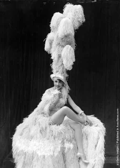Mistinguett, singer and dancer Jeanne-Marie Bourgeois