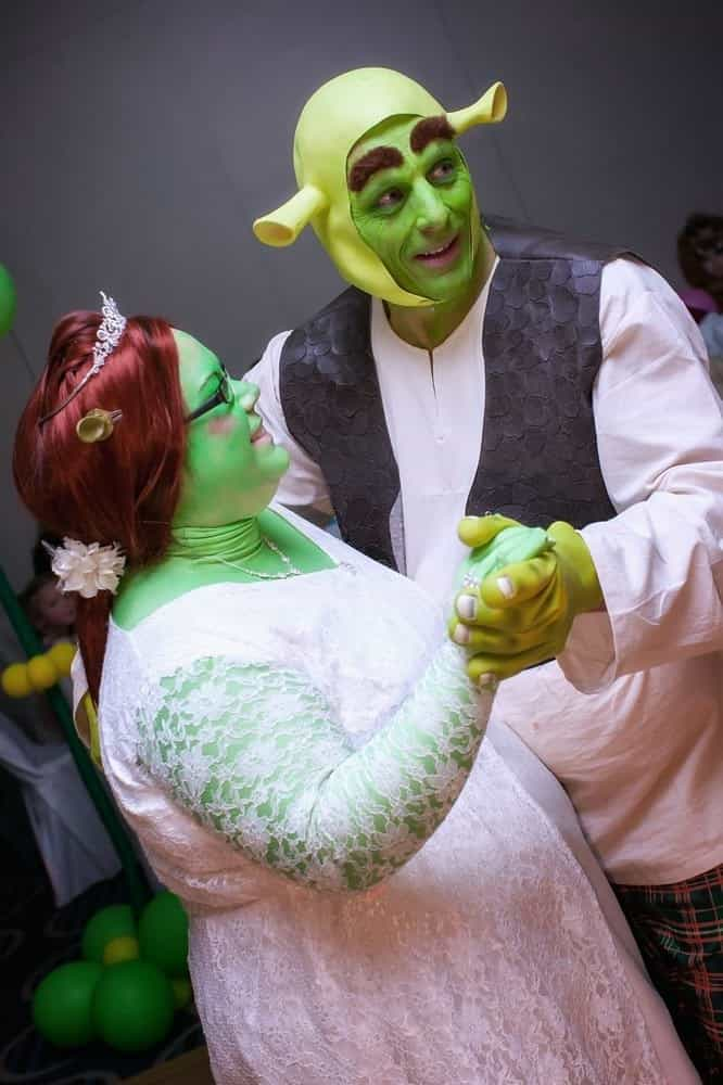 Shrek Wedding By Paul Bellas And Heidi Coxshall GagDaily