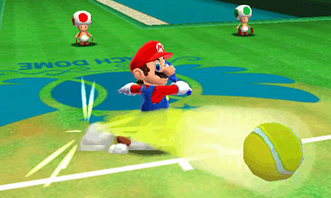 Image result for Mario tennis open screenshot