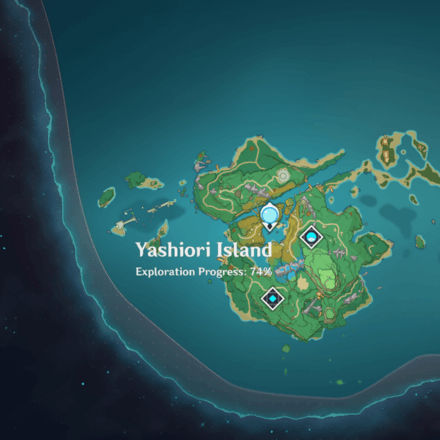There is a luxurious chest in the musoujin gorge area of the yashiori island in genshin impact 2.0 (inazuma region) which is surrounded by 6 electrified swords. Yashiori Island Guide Genshin Impact Game8