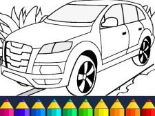 汽车涂色游戏