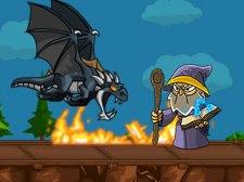 Dragon vs mago