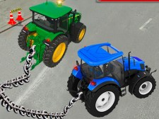 链式拖拉机牵引模拟器