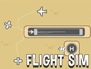 لعبة هبوط الطائرات