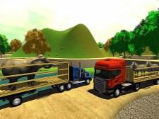 越野动物卡车运输模拟器2020