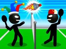 火柴人运动羽毛球