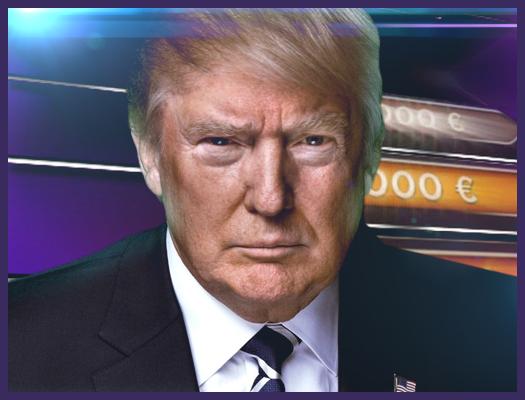 لعبة المليونير مع ترامب