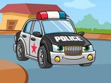 Coches de policía jigsaw