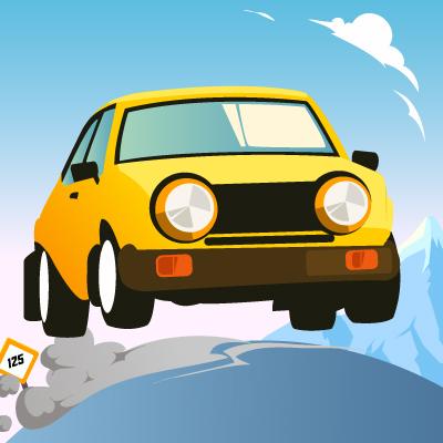 لعبة رحلة سيارة