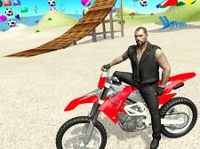 오토바이 비치 파이터 3D