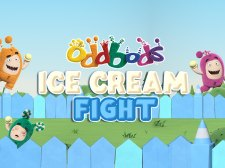 Oddbods Ice Cream Fight