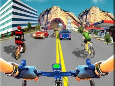 真正的自行车赛车游戏3D