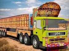 Jeu de cargaison de chauffeur de camion