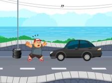 疯狂的道路赛跑者