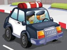 Police Cars Jigsaw.