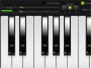 لعبة بيانو حقيقي على الإنترنت