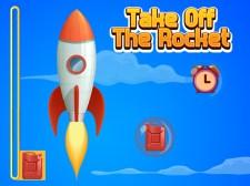 Quita el cohete y recoge las monedas.