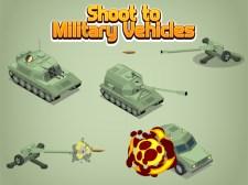 Disparar a vehículos militares
