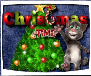 لعبة عيد الميلاد توم